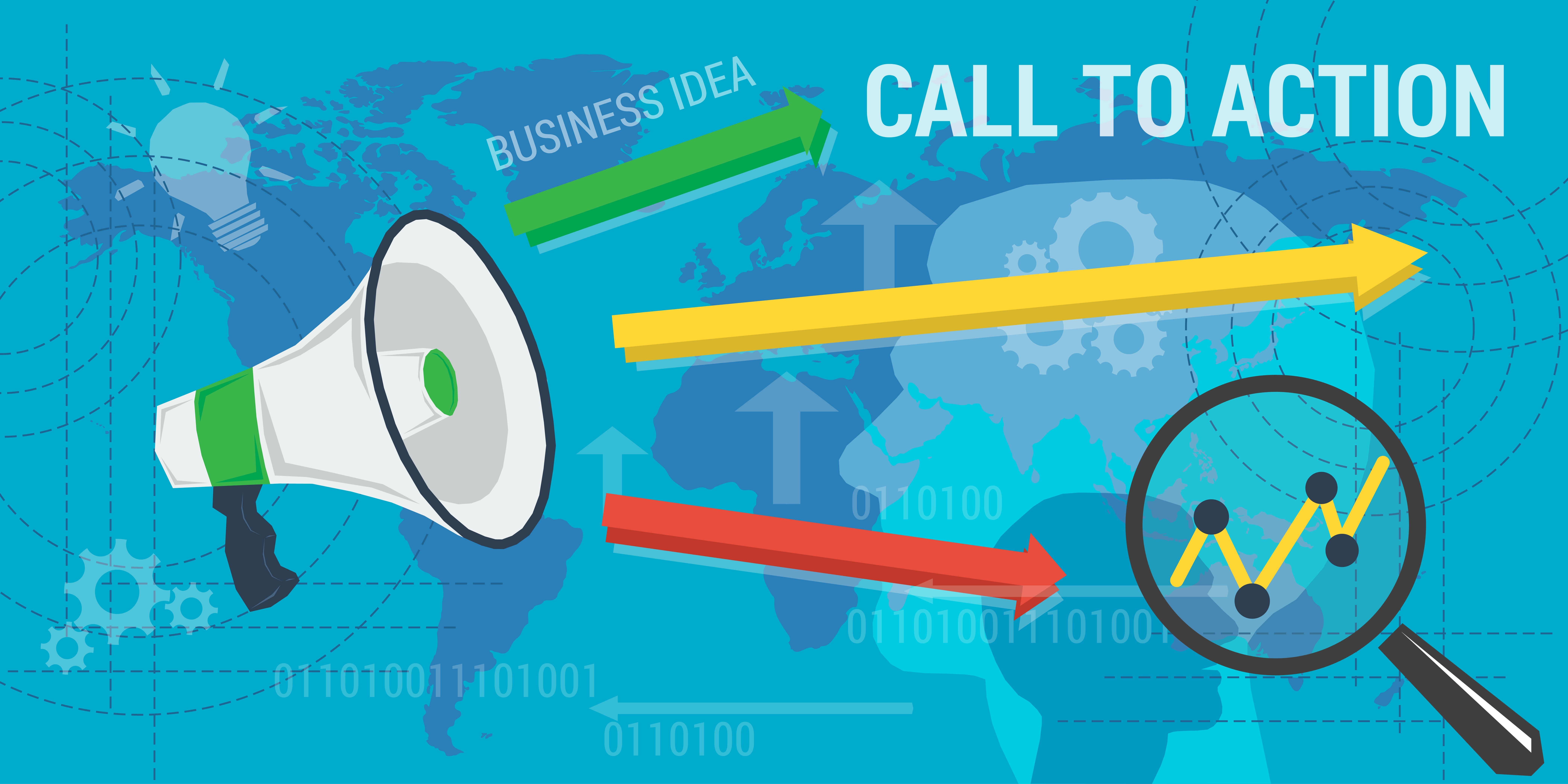 Call to Action Illustration